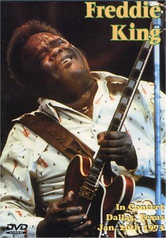 Freddie King In Concert Dallas Texas Jan. 2