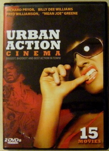 Urban Action Cinema 15 Movies 4 Dvds