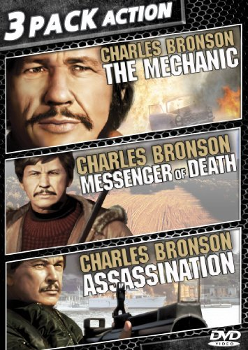 Mechanic Messenger Of Death Assassination 3 Pack Action Charles Bronson 3 Pack Action Charles Bronson