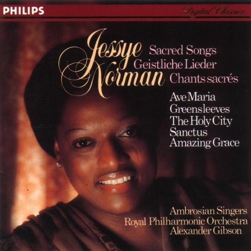 Jessye Norman Sacred Songs Norman (sop) Gibson Royal Po