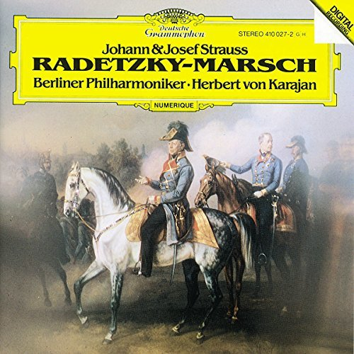 Karajan Berlin Philharmonic Or Strauss J Radetzky March Perp Import Eu