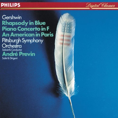 Previn Pittsburgh Symphony Orc Rhapsody In Blue Previn*andre (pno) Previn Pittsburgh So