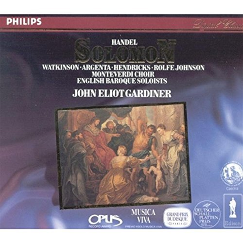 G.F. Handel Solomon Gardiner English Baroque Soloi