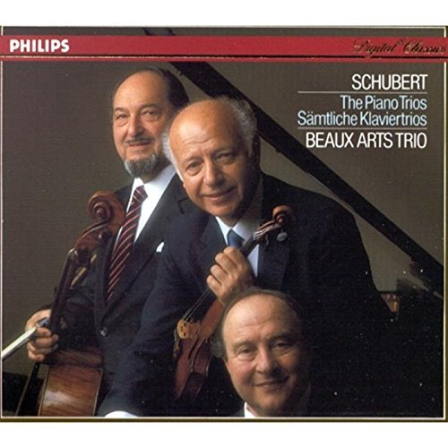 Schubert Beaux Arts Trio Complete Piano Trios