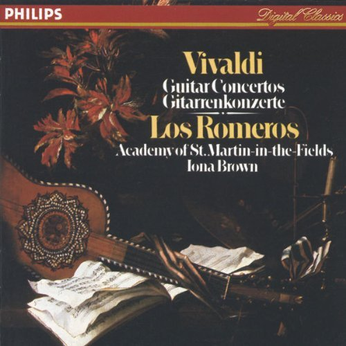 Los Romeros Brown Academy Of S Guitar Concertos Los Romeros Brown Asmf