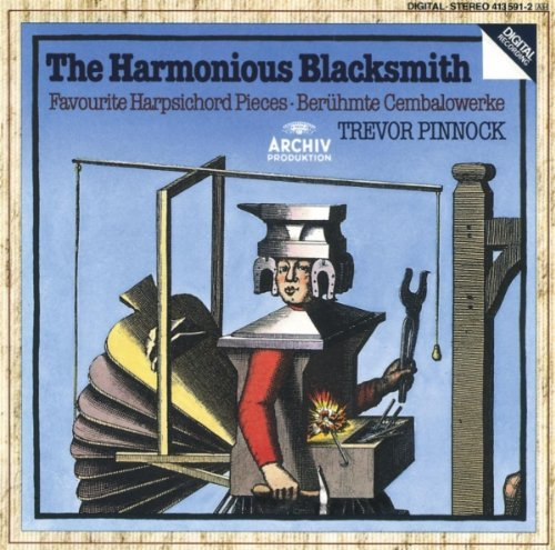 Pinnock Harmonious Blacksmith Harpsi