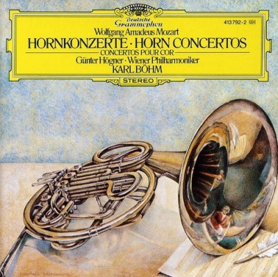W.A. Mozart Cons For Horn 1 4 Import Eu
