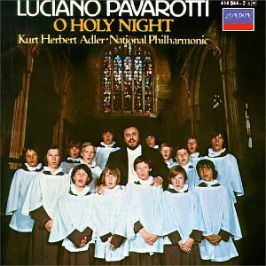 Pavarotti Luciano O Holy Night Pavarotti (ten) Adler National Phil