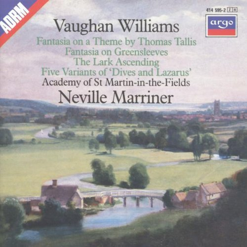 Marriner Academy Of St. Martin Fantasia On Tallis Greensleeve Marriner Asmf