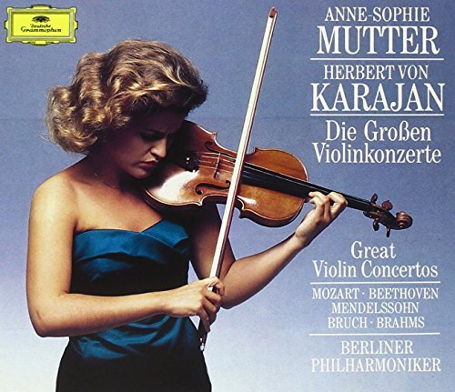 Anne Sophie Mutter Great Violin Concertos Mutter (vn) Karajan Berlin Po