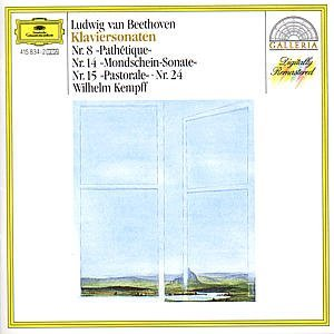 "Ludwig Van Beethoven Wilhelm Kempff Beethoven Piano Sonatas (no. 8 ""pathetique"" No."