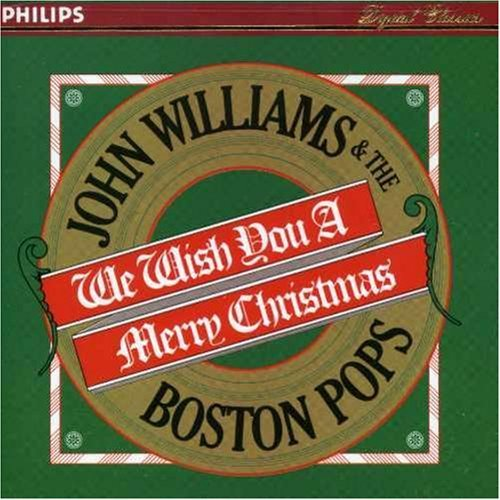 Boston Pops Orchestra We Wish You A Merry Christmas Williams Boston Pops