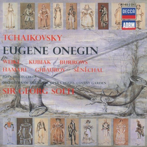 Pyotr Ilyich Tchaikovsky Eugene Onegin Comp Opera Burrows Reynolds & 2 CD
