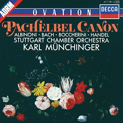 Pachelbel Albinoni Bach Etc Canon Adagio Fugue Etc Munchinger Stuttgart Co