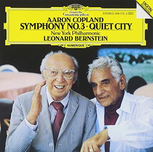 Bernstein New York Philharmoni Symphony 3 Quiet City Bernstein New York Po