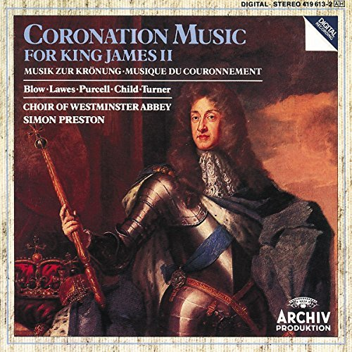 Simon Preston Music For King James