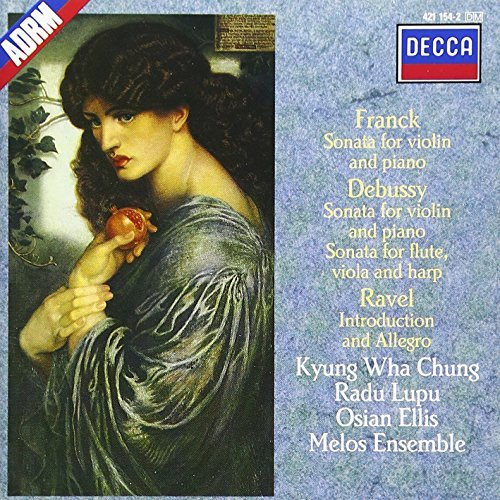 Franck Debussy Ravel Son Vn (2) Intro & Allegro Chung Lupu Ellis Melos Ens Of London