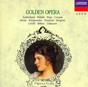 Golden Opera Aria Highlights Pavarotti Popp Tebaldi +