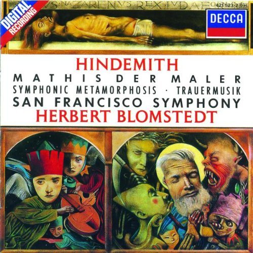 P. Hindemith Mathis Maler Sym Metamorphosis Blomstedt Sf Sym Orch