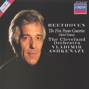 L.V. Beethoven Con Pno 1 5 Comp Choral Fant Ashkenazy*vladimir (pno) Ashkenazy Cleveland Orch