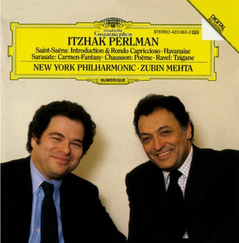 Perlman Itzhak Perlmans French Showpieces Perlman (vn) Mehta New York Po