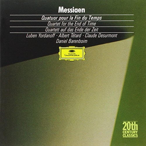 O. Messiaen Qt For End Of Time Yordanoff Tetard Desurmont Etc