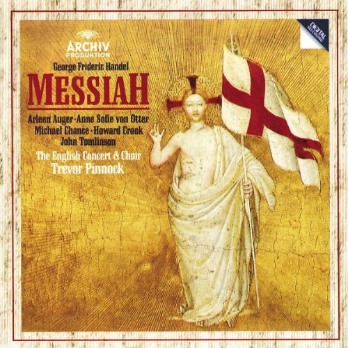 George Frideric Handel Messiah Comp Auger Von Otter Chance Crook Pinnock English Concert & Choi