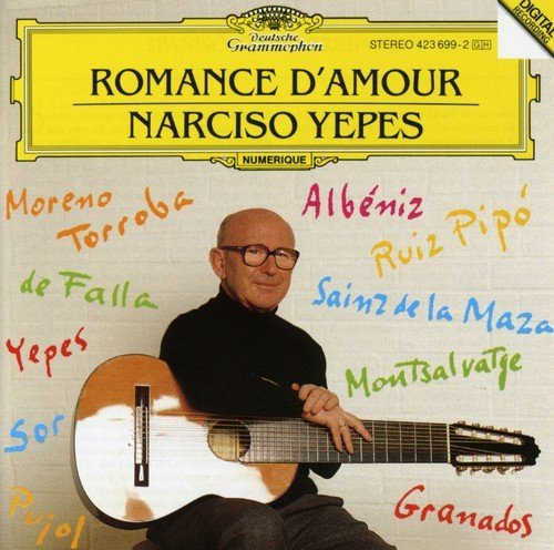 Narciso Yepes Romance D'amour Spanish Guitar Yepes (gtr)
