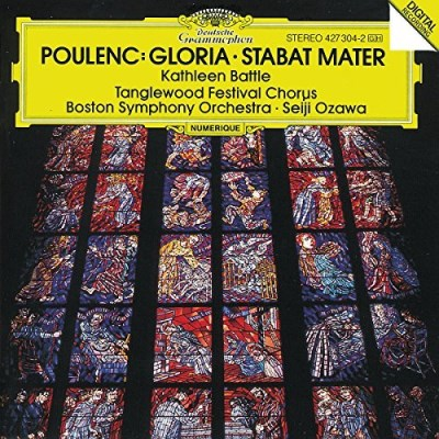 F. Poulenc Gloria Stabat Mater Battle*kathleen (sop) Ozawa Boston So