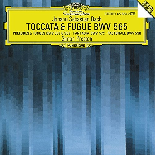 J.S. Bach Toccata & Fugue Organ Works