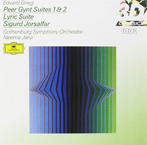Jarvi Gothenburg Symphony Orch Peer Gynt Suites Jarvi Gothenburg So