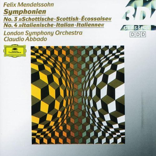 Felix Mendelssohn Sym 3 4 Abbado London So