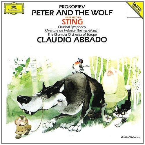 S. Prokofiev Peter & Wolf Sym 1 March Sting (nar) Abbado Co Of Europe