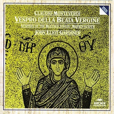 C. Monteverdi Vespro Della Beata Vergine Monteverdi Choir Gardiner English Baroque Soloi
