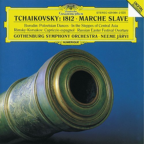 Jarvi Gothenburg Symphony Orch 1812 Overture Marche Slave (+ Jarvi Gothenburg So