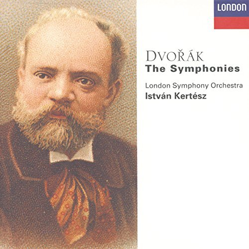 Antonin Dvorák Sym 1 9 Comp Carnival My Home 6 CD Kertesz London So