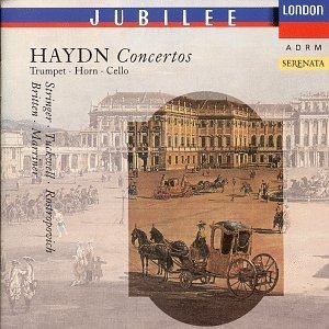 J. Haydn Con Vc 1 Con Hn 1 2 Con Tpt Rostropovich Tuckwell Stringer Britten & Marriner Various