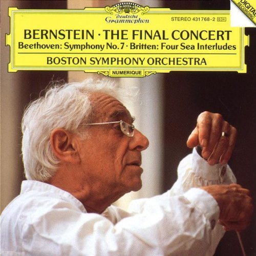 Leonard Bernstein Final Concert Bernstein Boston So