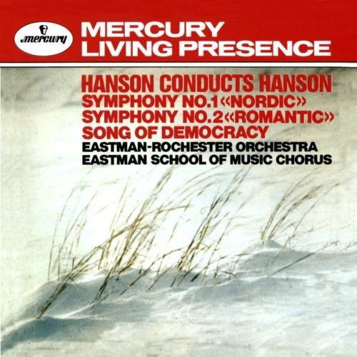 Hanson Eastman Rochester Orch. Symphonies 1 2 Song Of Democra Hanson Eastman Rochester Orch