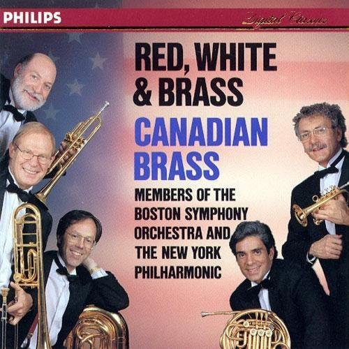 Canadian Brass Red White & Brass Canadian Brass