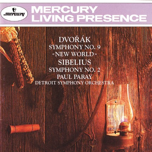 Dvorak Sibelius Sym 9 Sym 2 Paray Detroit So
