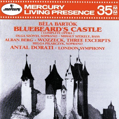 Bartok Berg Bluebeard's Castle Wozzeck Hlt Szekely Szonyi Pilarczyk Dorati London So