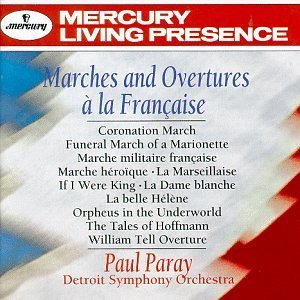 Paul Paray Marches & Overtures A La Franc Paray Detroit So