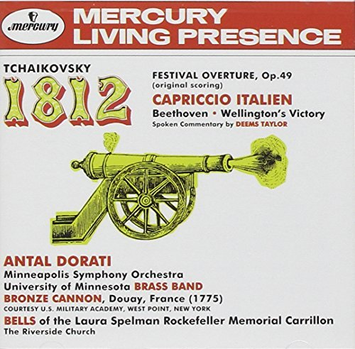 Dorati London & Minneapolis Sy 1812 Overture Capriccio Italie Dorati Minneapolis So