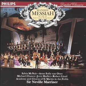 George Frideric Handel Messiah Comp Mcnair Von Otter Hadley Lloyd Marriner Asmf