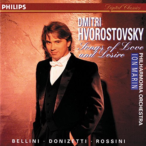 Dmitri Hvorostovsky Songs Of Love & Desire Hvorostovsky (bar) Marin Po
