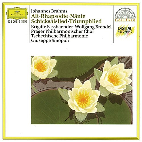 J. Brahms Choral Works Alto Rhapsody Song Of Destiny