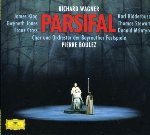 Jones King Stewart Crass Boule Wagner Parsifal Complete Import Gbr