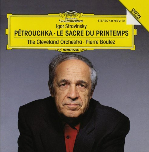 Stravinsky I. Rite Of Spring Petrouchka Boulez Cleveland Orch