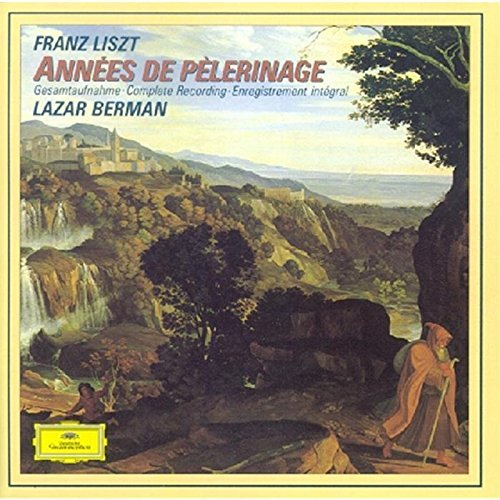 Liszt F. Annees De Pelerinage Comp Berman*lazar (pno) 3 CD Set